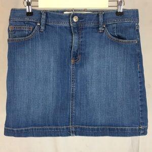 GAP Jeans Stretch Denim Skirt